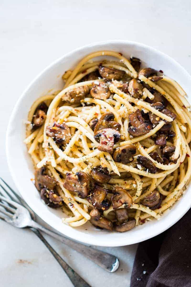 Chicken aglio olio recipes