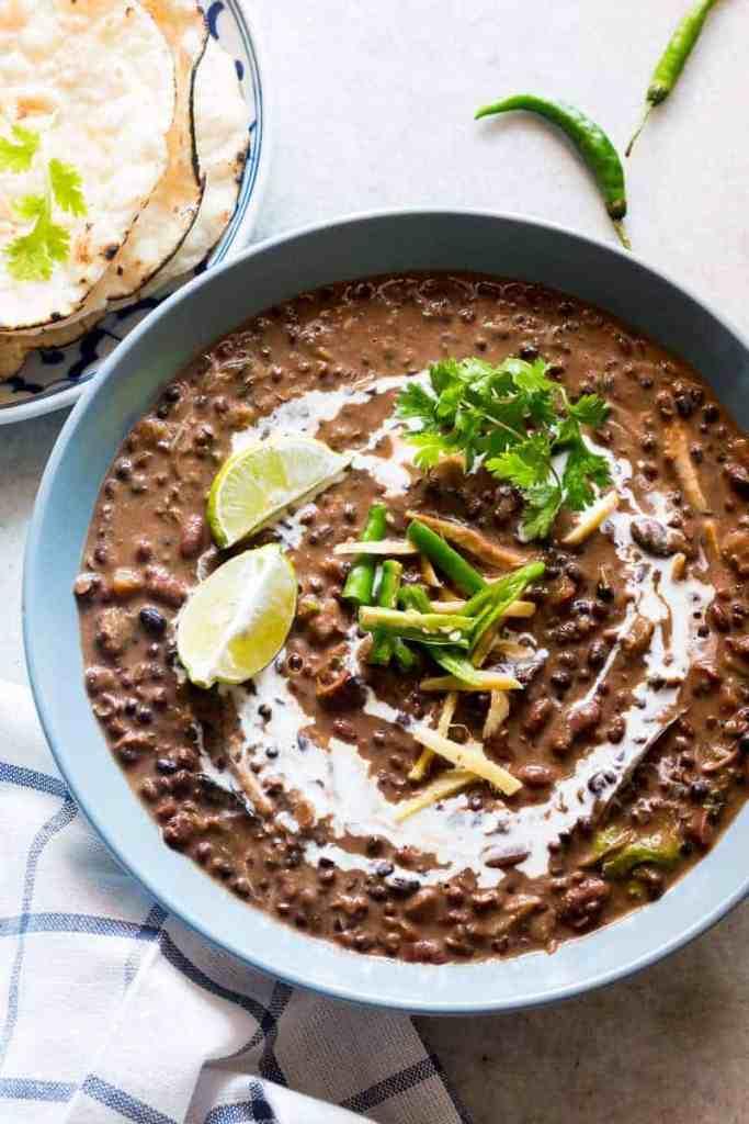 Easy Slow Cooker Dal Makhani