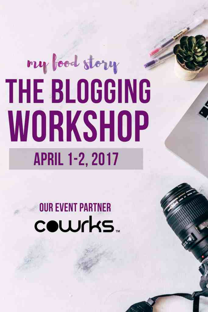 Announcing The Blogging Workshop: April 1-2, 2017