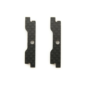 The replacement QAV-SKITZO Dark Matter FPV Freestyle Quadcopter Camera Sidewall made of 3mm thick 3k carbon fiber.