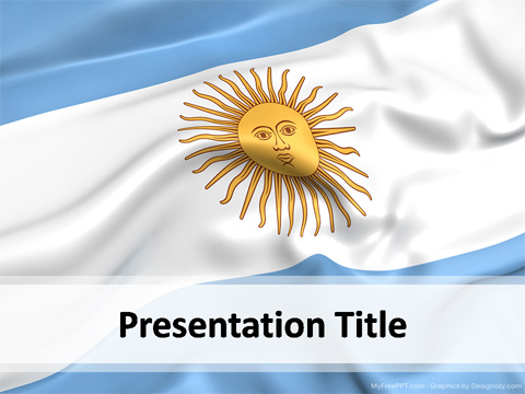 Argentina PowerPoint Template Download Free PowerPoint PPT