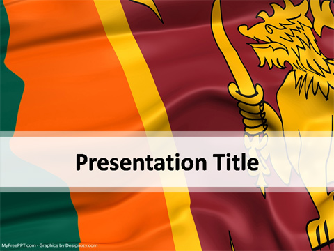 Sri Lanka Powerpoint Template Download Free Powerpoint Ppt