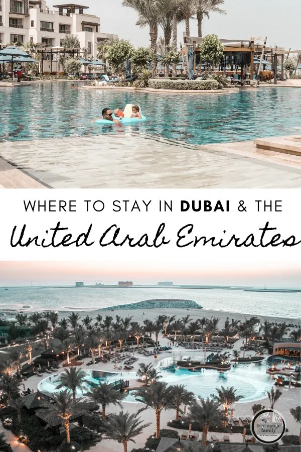 Where to stay in Dubai and the United Arab Emirates