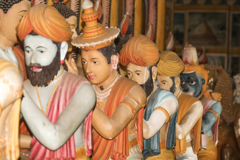 Wewurukannala Vihara temples. Sri Lanka travel blog