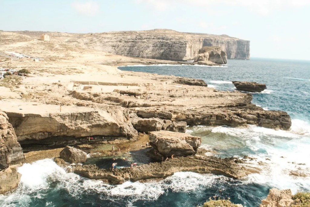 Azure window in Gozo collapsed in 2017.