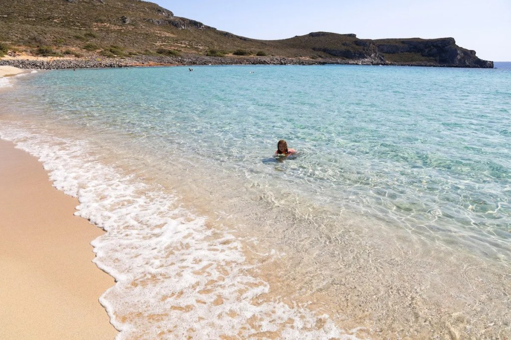 One of the most beautiful places in the Peloponnese - Simos Beach