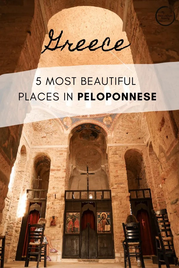 Most beautiful places in Peloponnese - pin for later