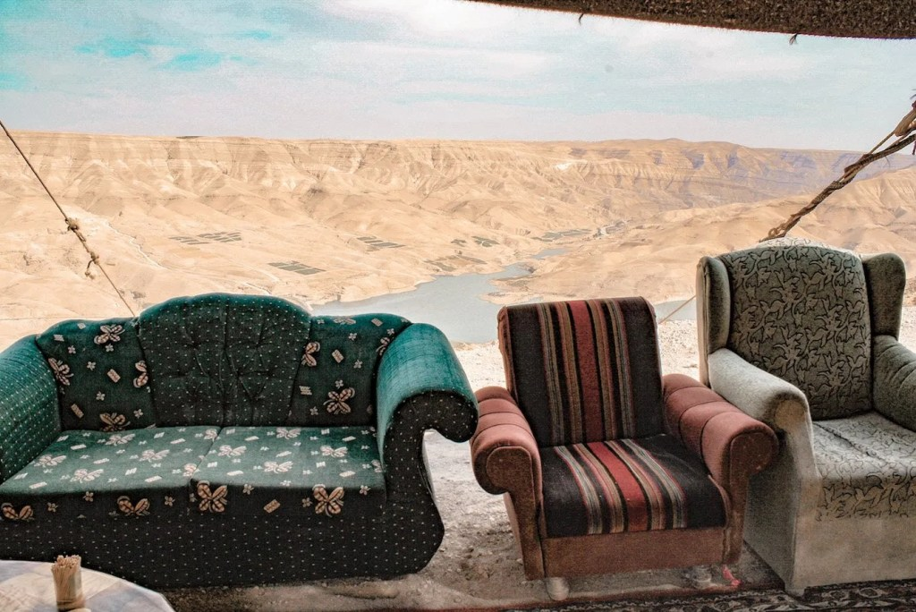 Looking over the King's Highway - Jordan itinerary