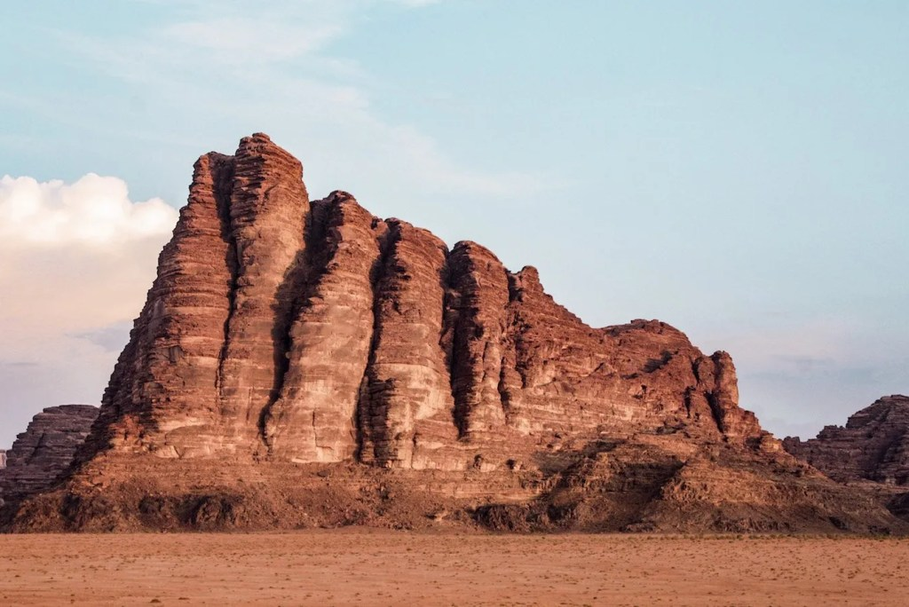 Seven Pillars of Wisdom - Wadi Rum - Jordan itinerary