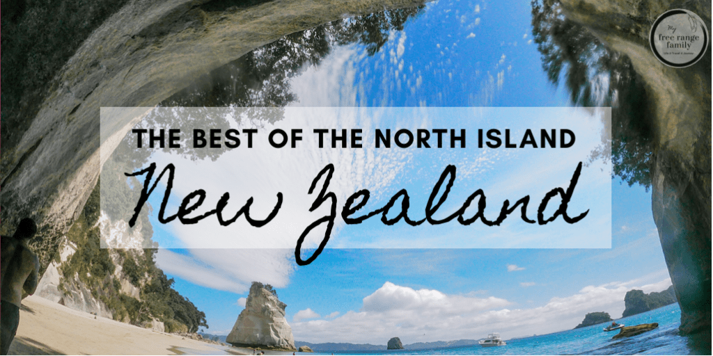 Cathedral Cove - The best places to visit in the North Island New Zealand