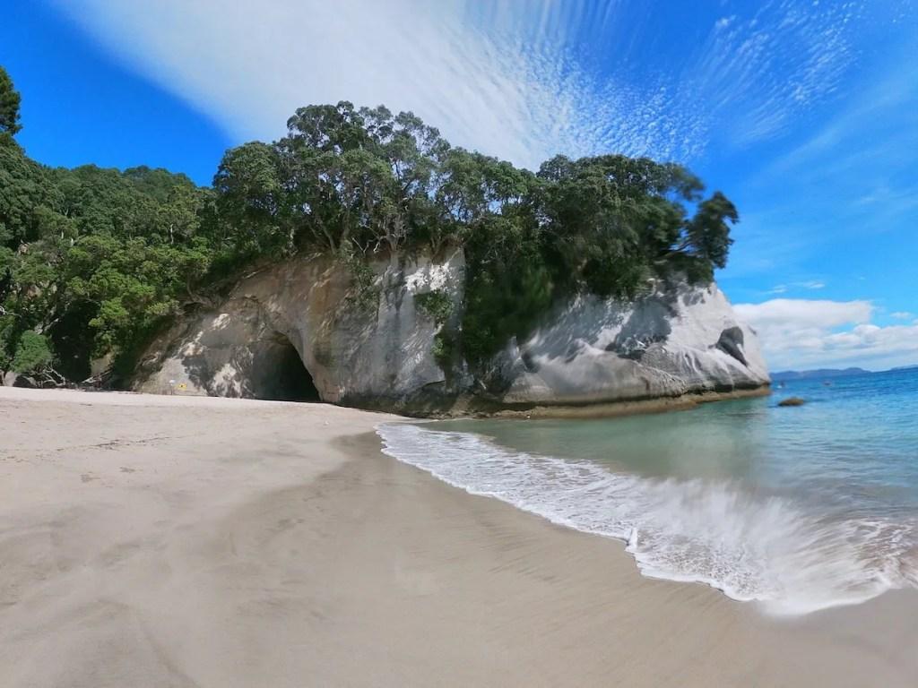 Cathedral Cove - top Coromandel attractions