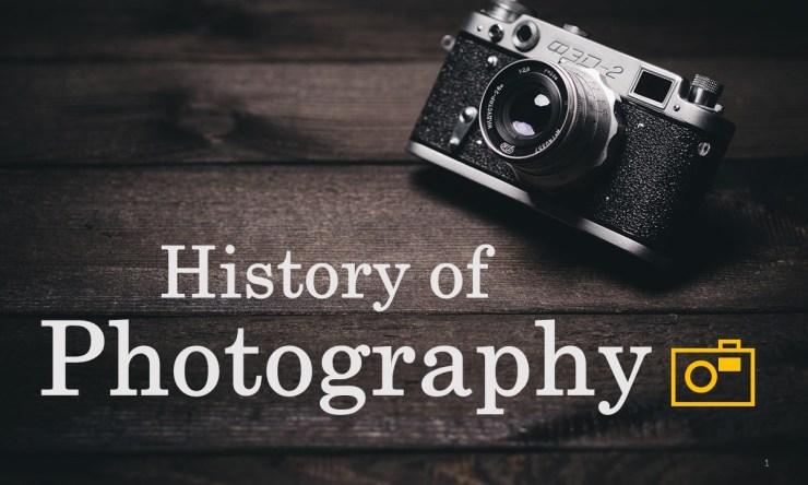 camera photography for google slides theme