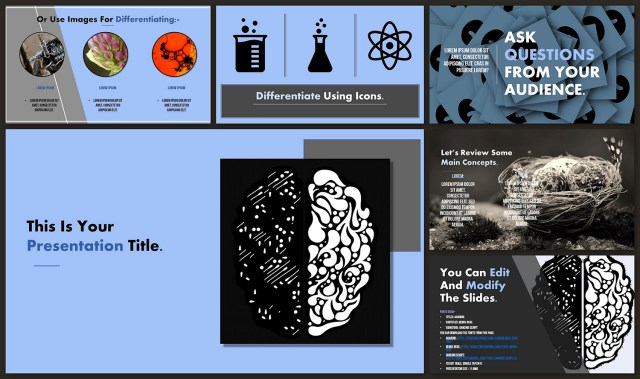 Brain Google Slide Theme