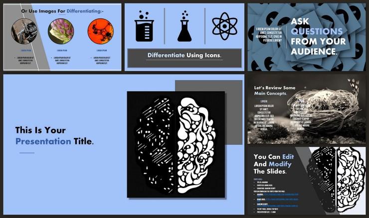 Brain Google Slide Theme