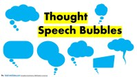 Free Thought Bubbles For Slides & Presentations