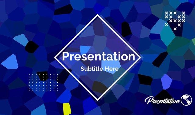 Crystal Presentation Background Template