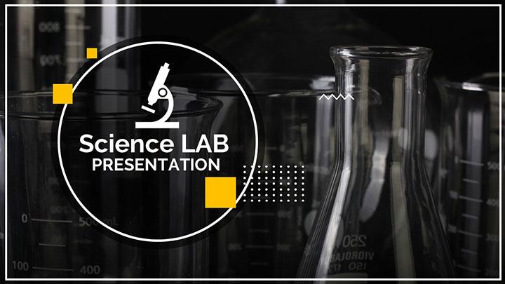 free chemistry lab equipments google slides themes