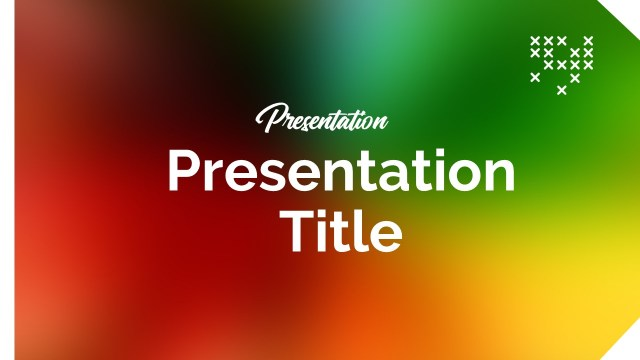 Colorful Google Slide Template (2)