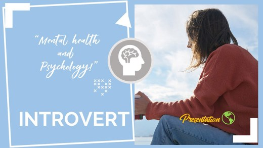 Introvert PPT Presentation Template and Google Slides Theme For Free