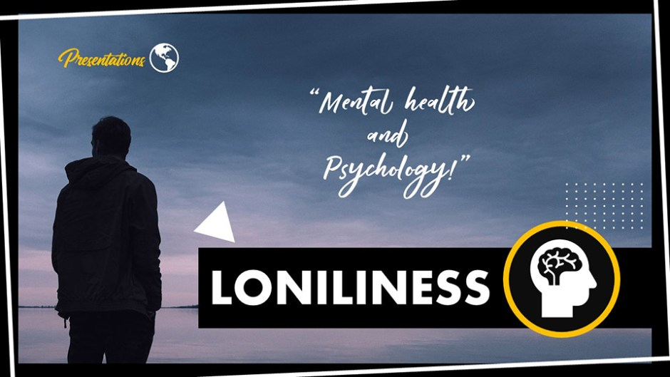 Loneliness PPT Presentation Template and Google Slides Theme For Free
