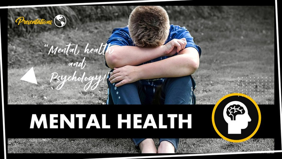 Mental Health PPT Presentation Template and Google Slides Theme For Free