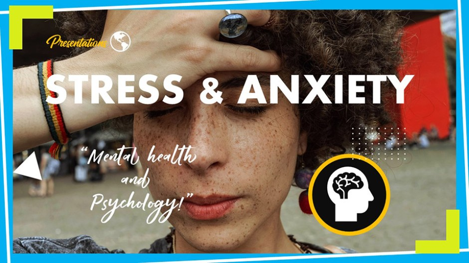 Stress and Anxiety PPT Presentation Template and Google Slides Theme For Free