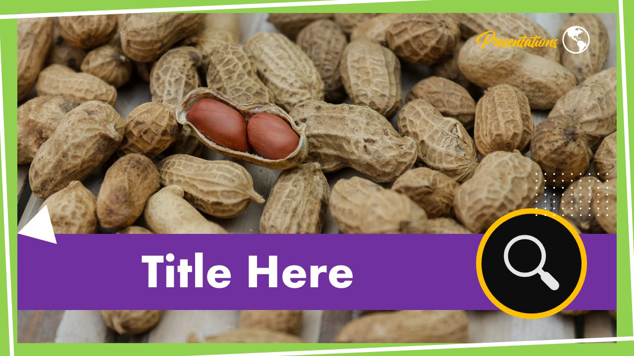 Peanut Powerpoint Template And Google Slides Themes
