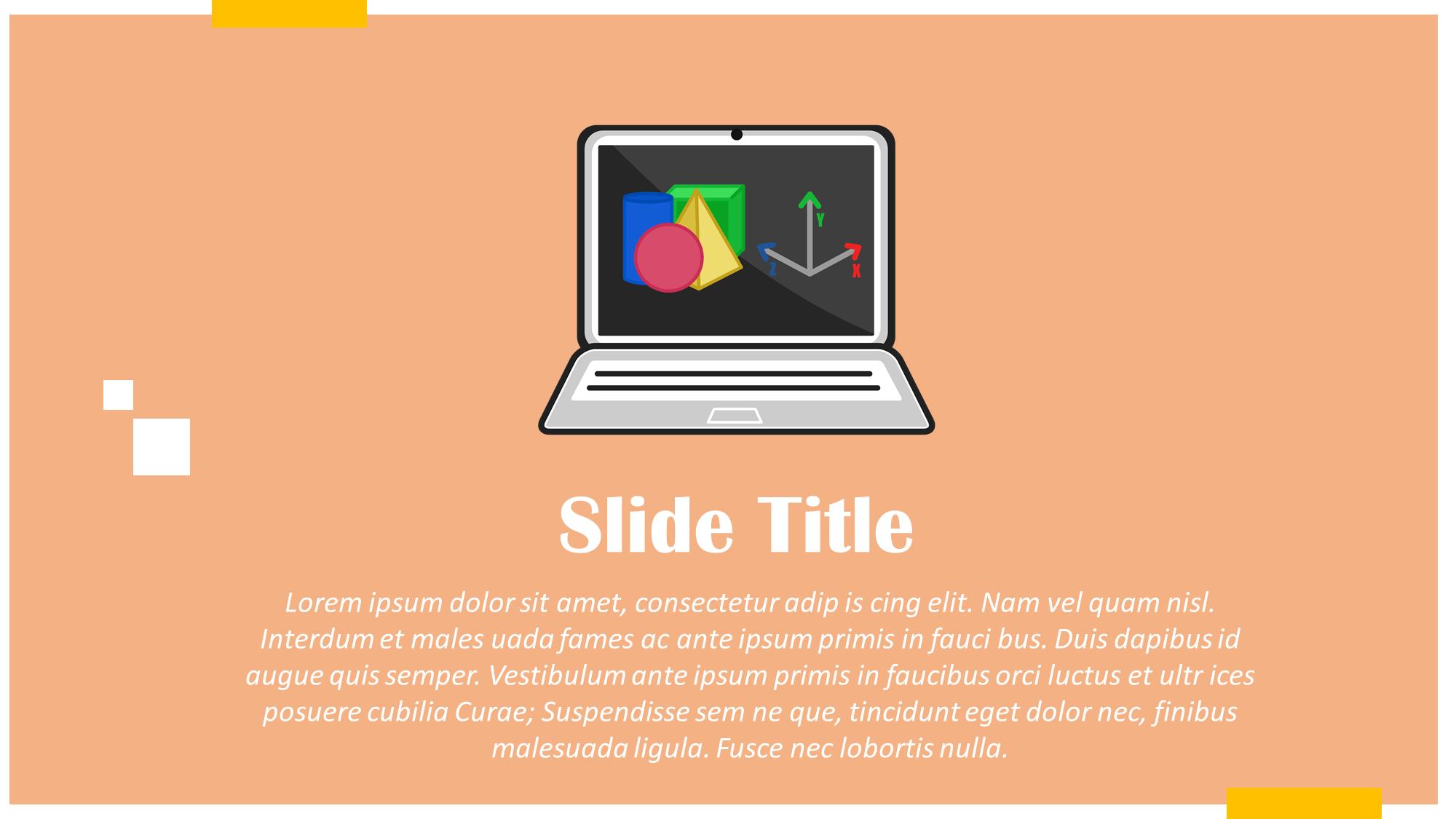 3d Software Presentation Slide