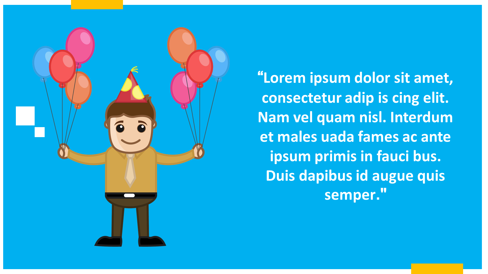 Balloons Party Presentation Slide