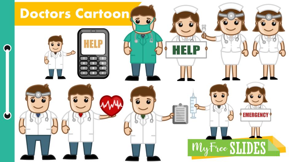 Cartoon Doctors Presentations