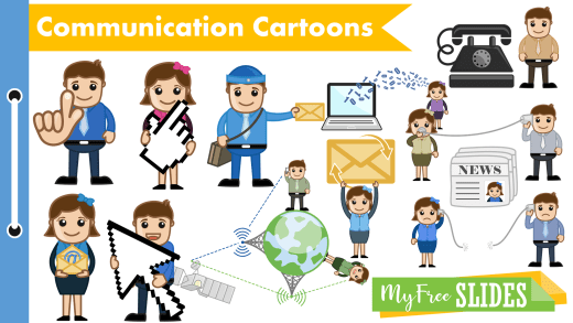 Communications Cartoons For Presentations
