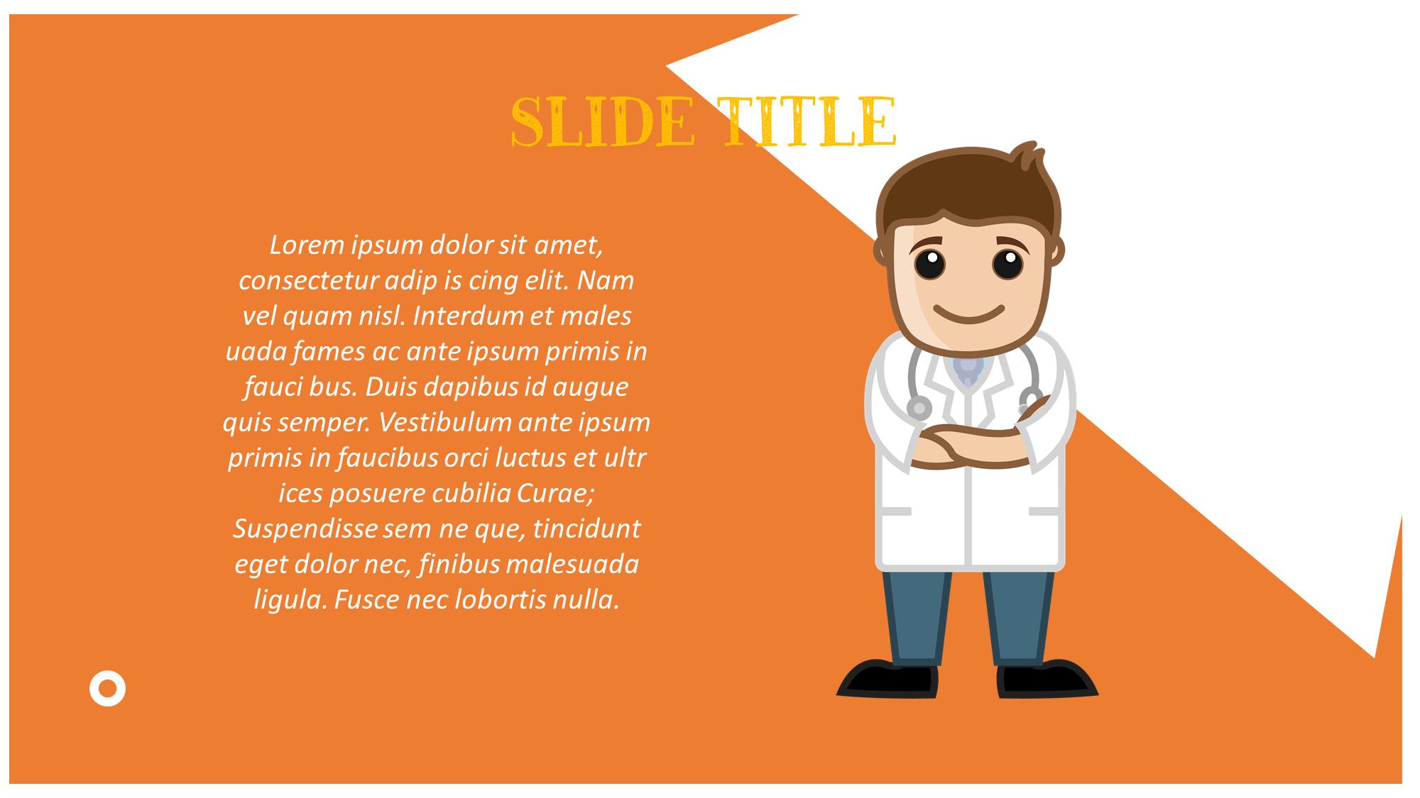 Cute Doctor Presentation Slide