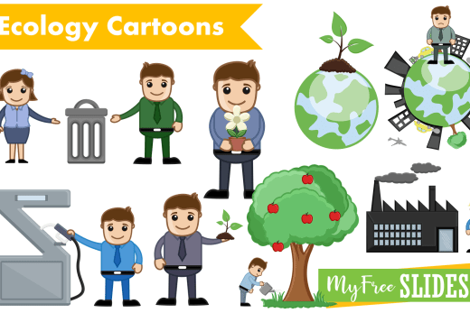Ecology and Environment Cartoons Presentation Slides