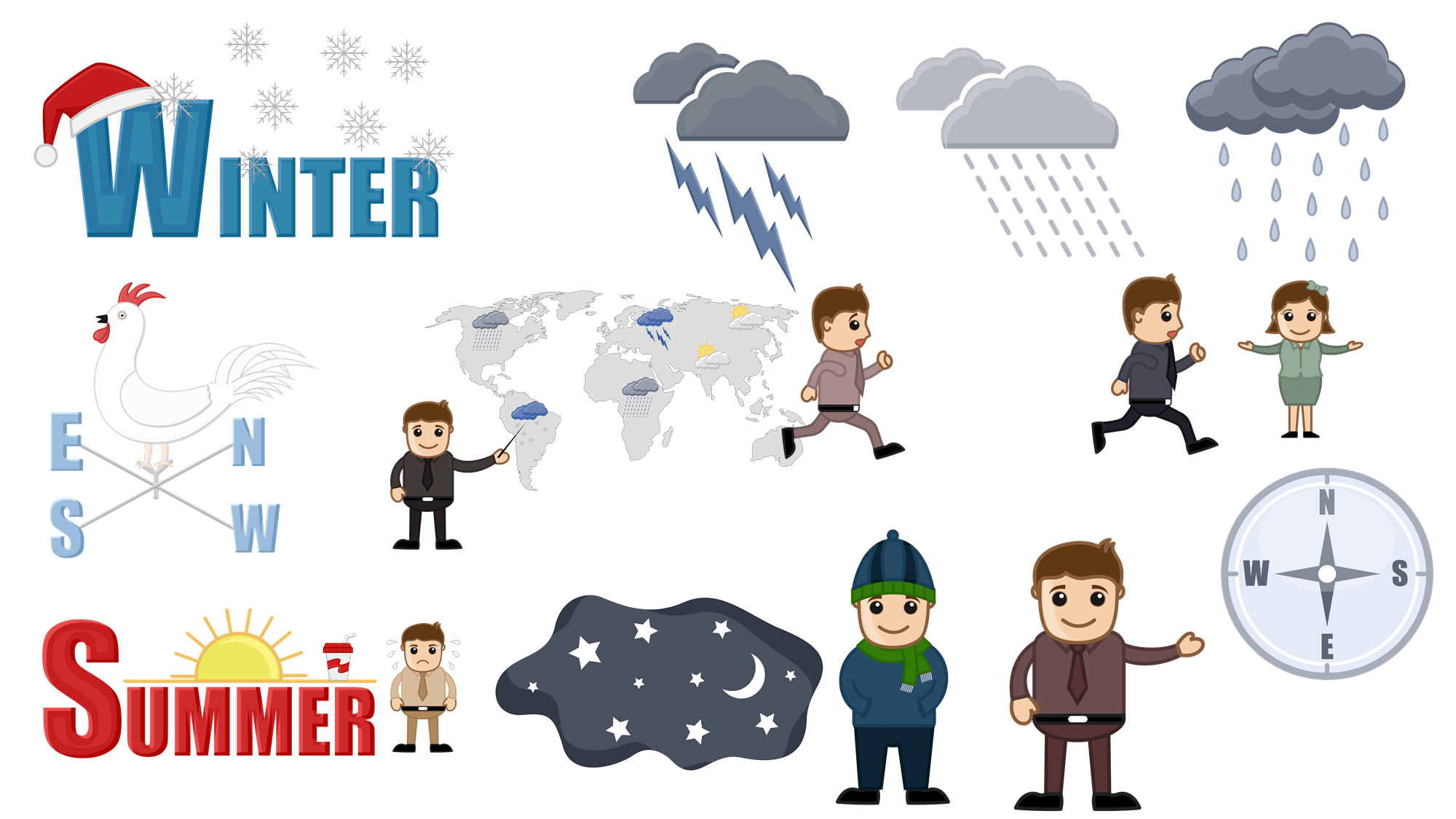 Free Weather Cartoons