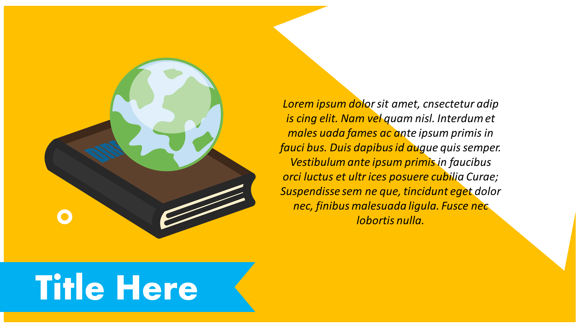 Geography Clipart Presentation Slide
