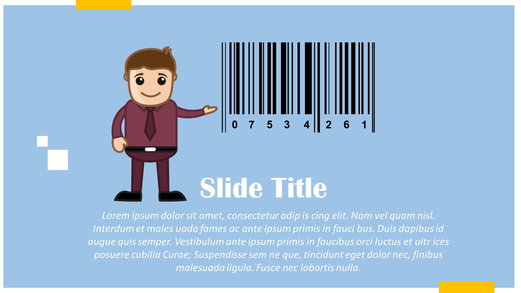 barcode presentation slide