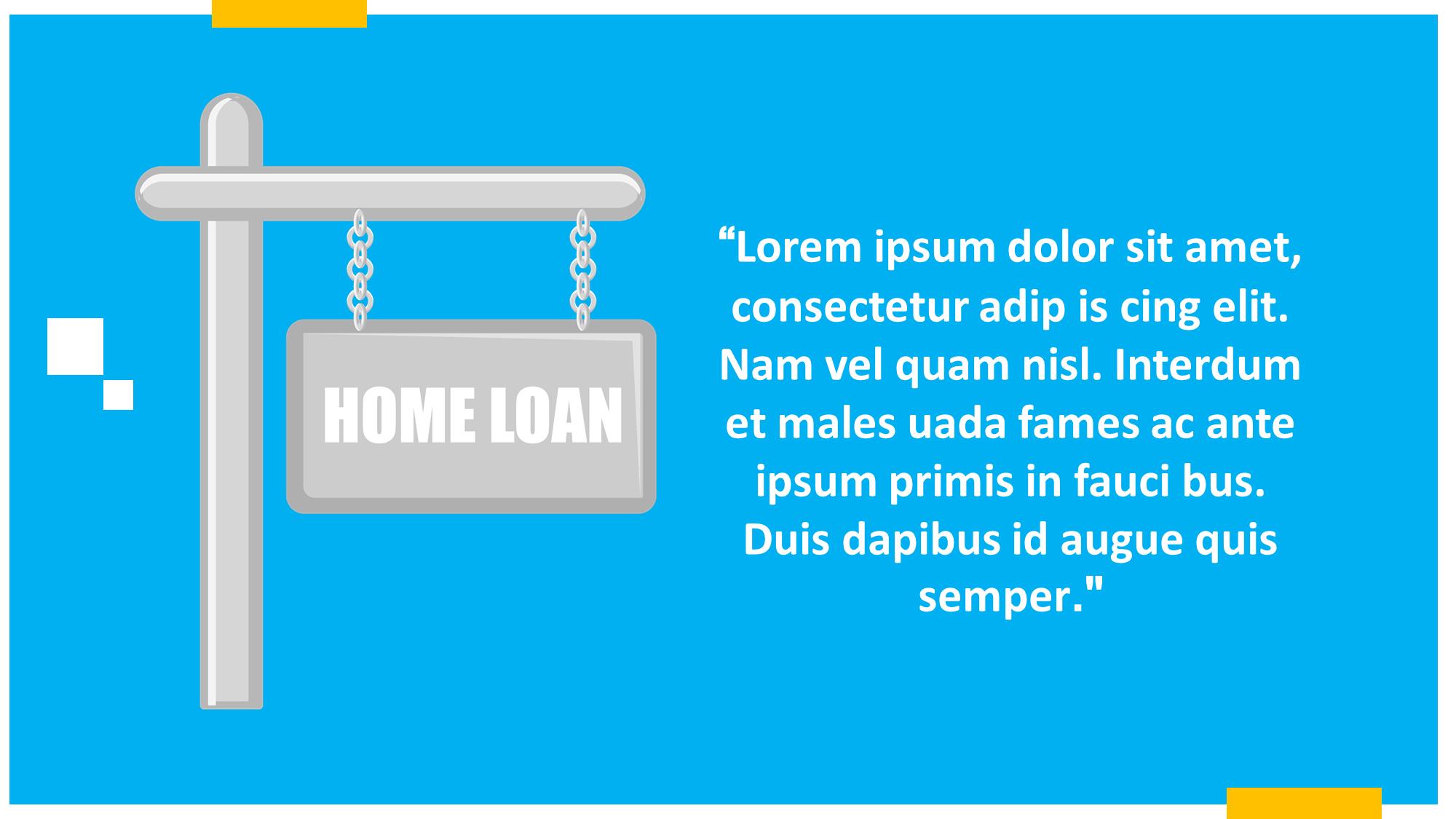 home loan presentation slide