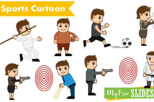 sports cartoons for presentations