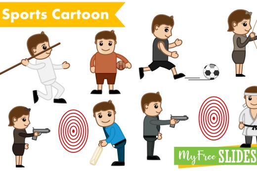 sports cartoons for presentations