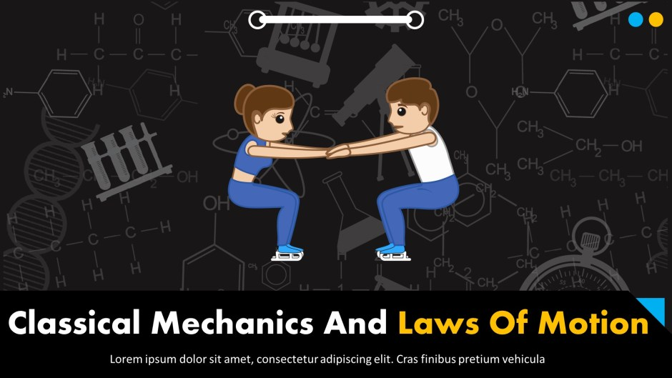 Classical Mechanics And Laws Of Motion Template