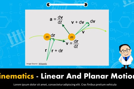 Kinematics - Linear And Planar Motion Presentation