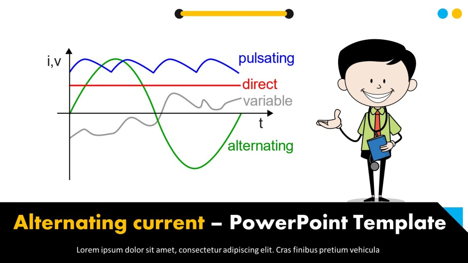 Alternating Current Powerpoint Templates