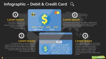 Debit & Credit Card Infographic-dark