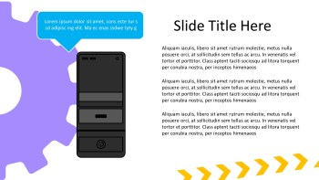 CPU presentation slide