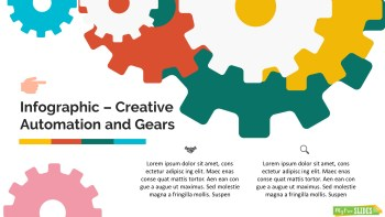 Creative Automation and Gears Google Slides Themes