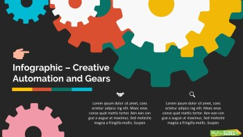 Creative Automation and Gears Slide Dark Version