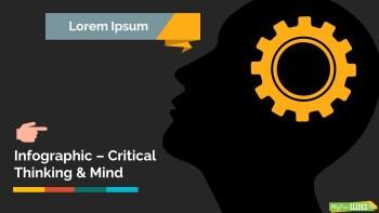 Critical Thinking and Mind Slide Dark Version