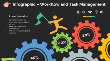 Workflow and Task Management Slide Dark Version