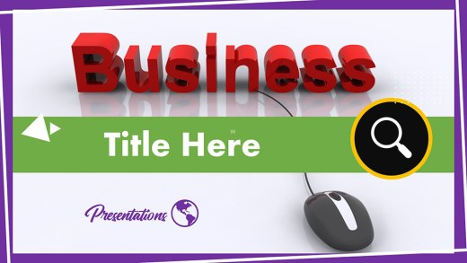 2014 - Online Business ppt design