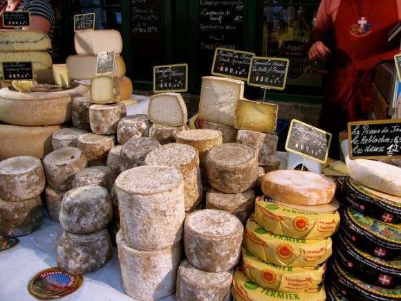Cheese - by K.G. Hawes - MyFrenchLife.org